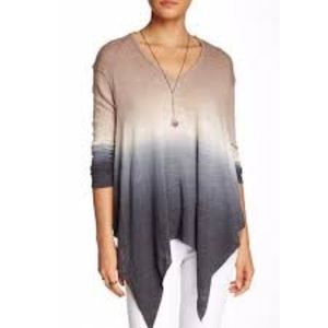 Young Fabulo And Broke Ombre Long Sleeve Top XS